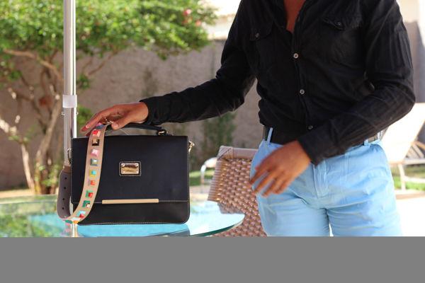 Meu look | Black & Blue - MO Brand