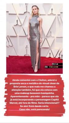 Oscar 2019... O tapete vermelho