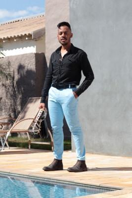 Meu look Black & Blue - MO Brand
