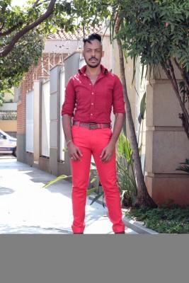Meu look #AllRed - MO Brand